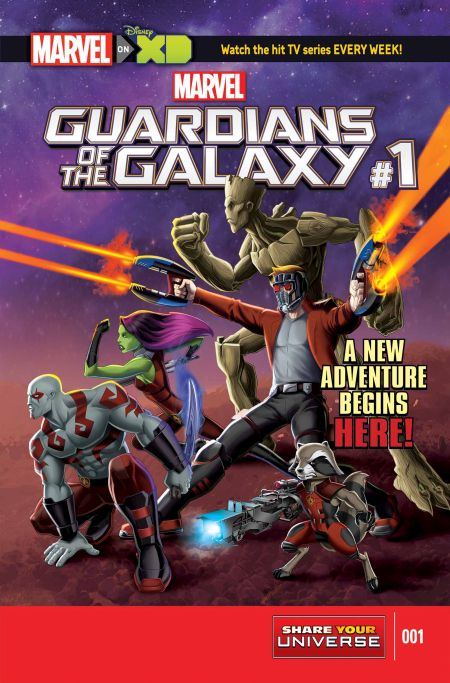 """Marvel Guardians Of The Galaxy"" #1"