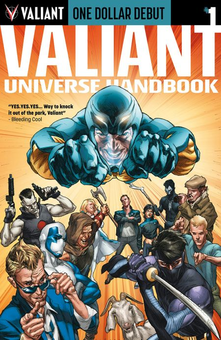 """One Dollar Debut: Valiant Universe Handbook"" #1"