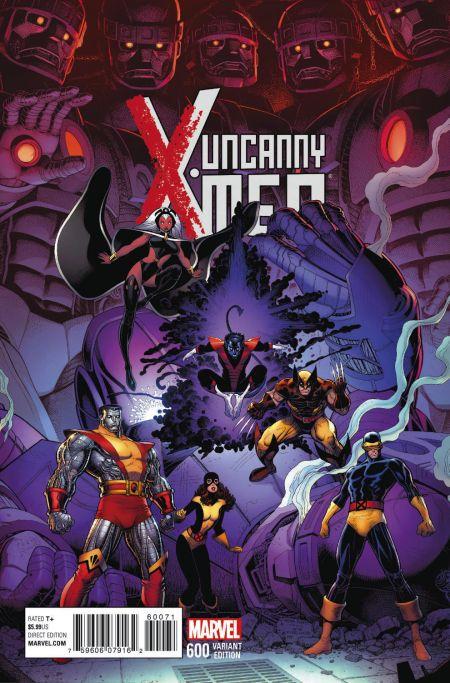 """Uncanny X-Men"" #600 Variant by Art Adams"