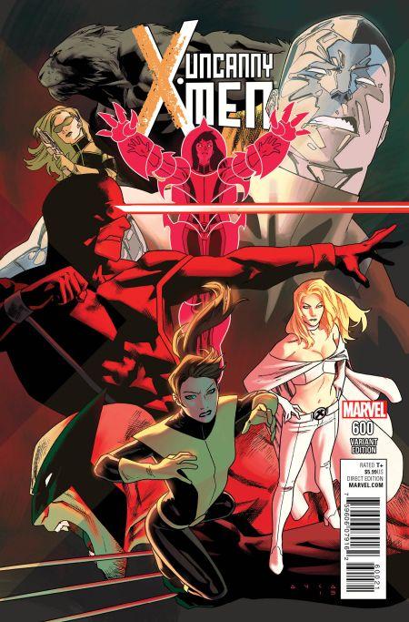 """""""Uncanny X-Men"""" #600 Variant by Kris Anka"""