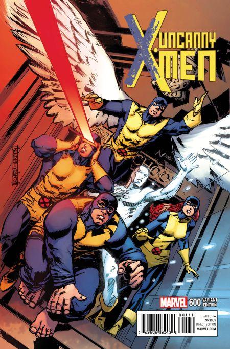 """Uncanny X-Men"" #600 Variant by Rick Leonardi"