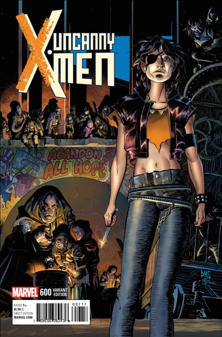 """Uncanny X-Men"" #600 Variant by Paul Smith"
