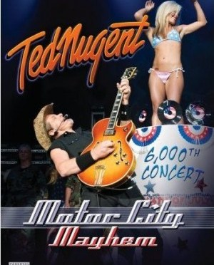 """Motor City Mayhem"" [DVD] by Ted Nugent"