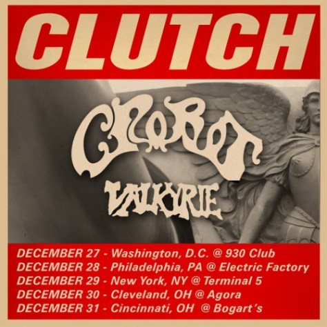 Poster - Clutch - 2015