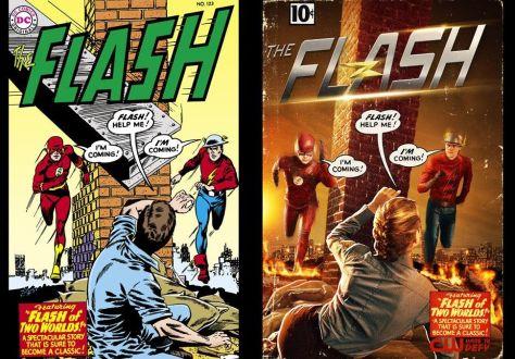 Poster - Flash w Flash - S2 - 2015