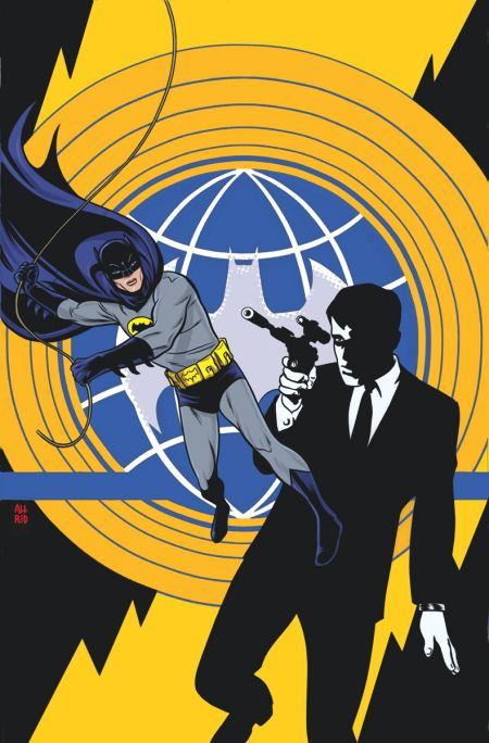 Comic - Batman 66 and Man from UNCLE 1 - 2015