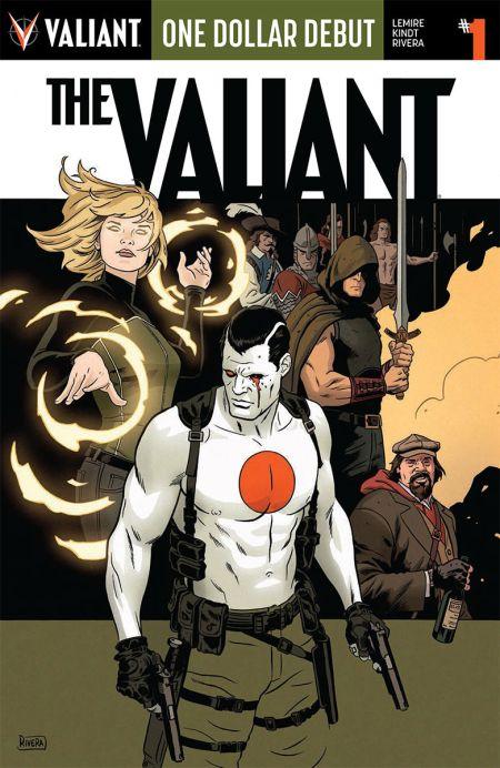 Comic - ODD The Valiant 1 - 2015