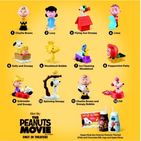 Photo - McDonalds - Peanuts Movie - 2015