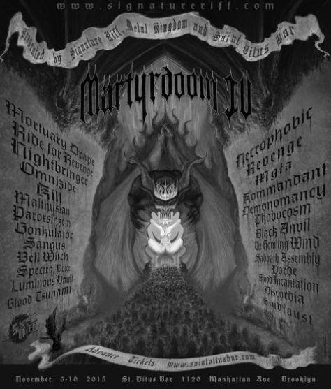 Poster - Martyrdoom - 2015