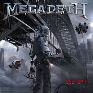 CD - Megadeth - Dystopia