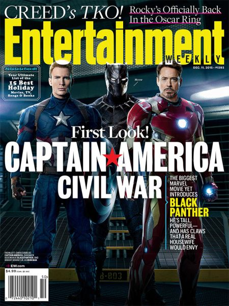 Cover - EW - Captain America Civil War - 2015