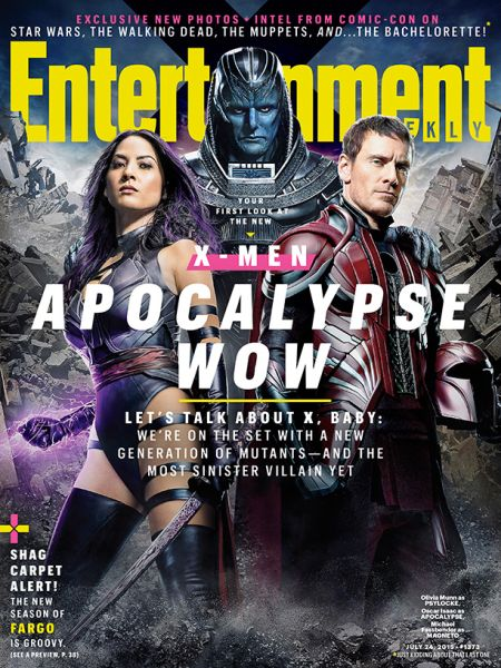 Cover - EW - X Men Apocalypse - 2015