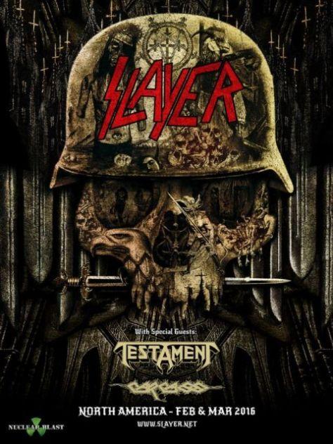 Tour - Slayer - Winter 2016