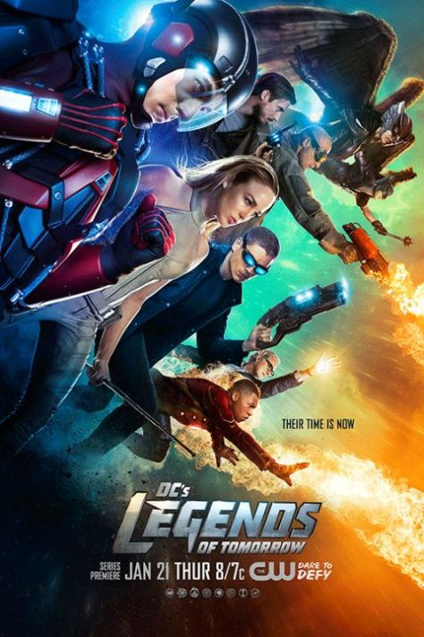 Poster - Legends Of Tomorrow S1 - 2016