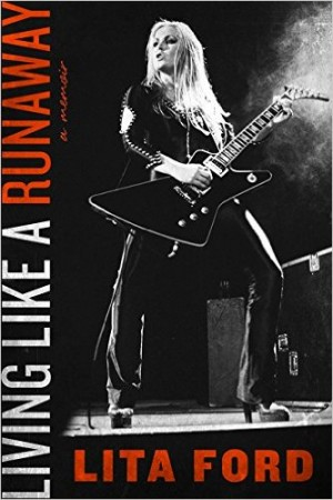 Book - Lita Ford - Living Like A Runaway