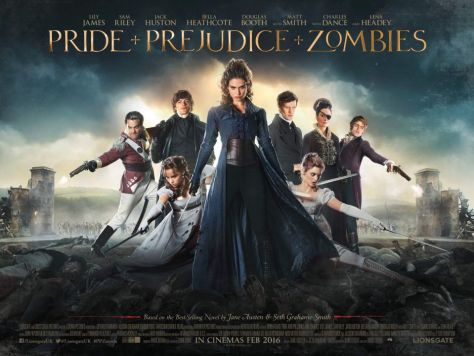 Poster - Pride and Prejudice and Zombies - 2016