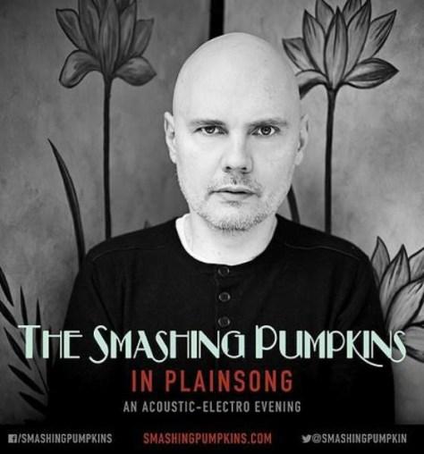 Tour - Smashing Pumpkins - In Plainsong 2016