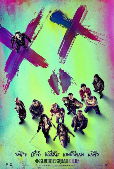 suicide squad character poster