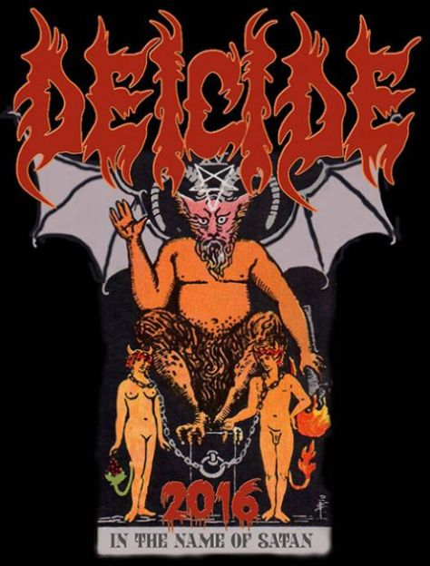 Tour - Deicide - In The Name Of Satan 2016