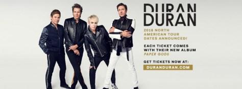 Tour - Duran Duran - 2016