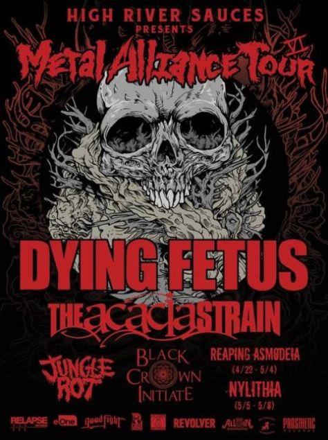 Tour - Metal Alliance - 2016