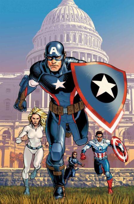 """""""Captain America: Steve Rogers"""" #1"""