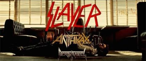 Tour - Slayer - Mighty Triumvirate 2016