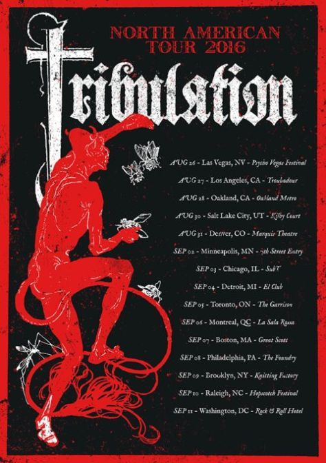 Tour - Tribulation - COTN 2016