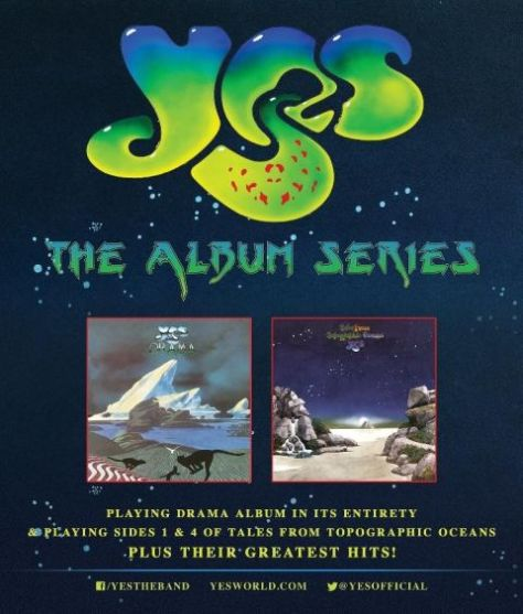 Tour - Yes - The Album Series - 2016
