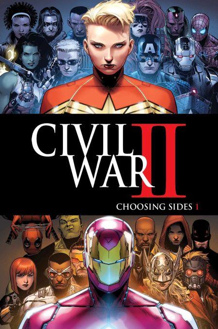 """Civil War II - Choosing Sides"" #1"