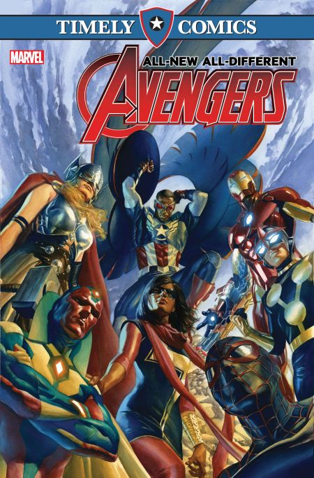 Timely Comics - The All-New All-Different Avengers
