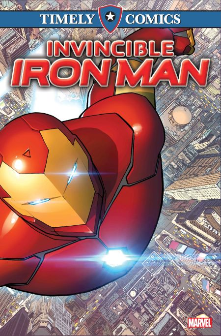 Timely Comics - Invincible Iron Man