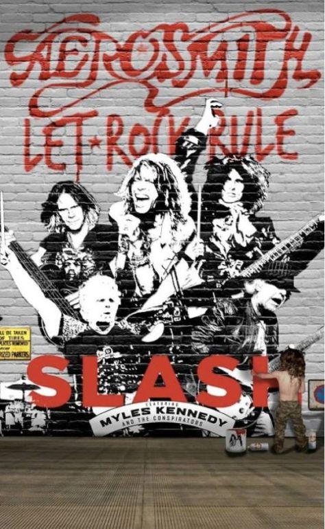 Tour - Aerosmith - Let Rock Rule Tour - 2014