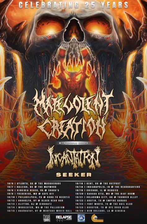 Tour - Malevolent Creation - US Tour 2016