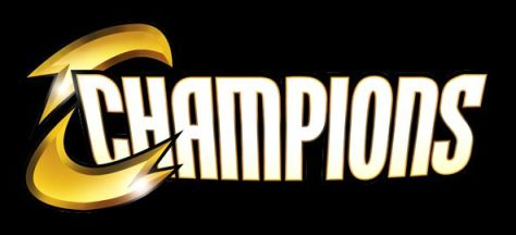 champions comic logo, marvel comics, marvel entertainment
