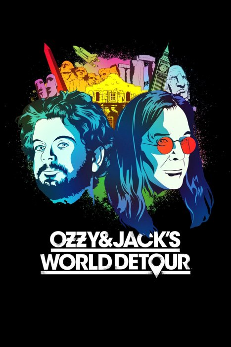 Poster - Ozzy and Jacks World Detour - 2016