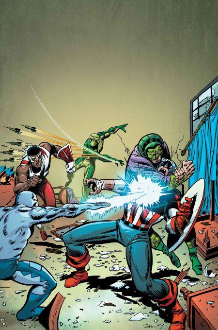 """""""Captain America: Serpents Unite"""" #1"""