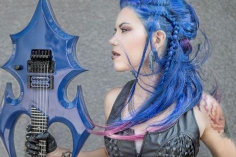 Alissa White-Gluz by Jeremy Saffer