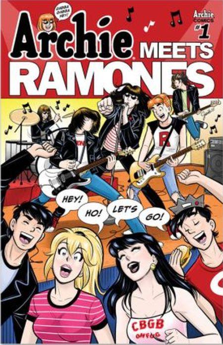 archie meets ramones, archie comics