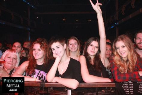 pretty reckless fans, audience photographs