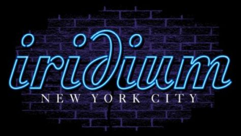 the iridium nyc logo