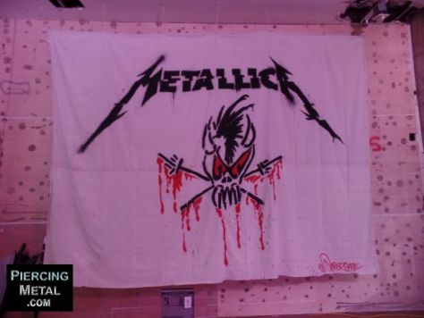 metallica pop-up shop nyc, metallica