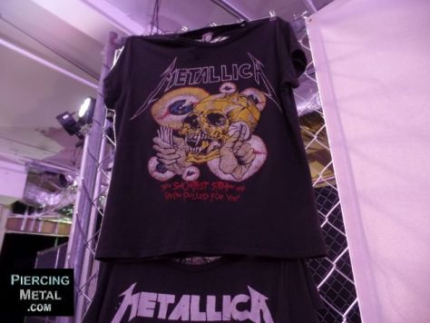 metallica pop-up shop nyc, metallica, metallica merchandise