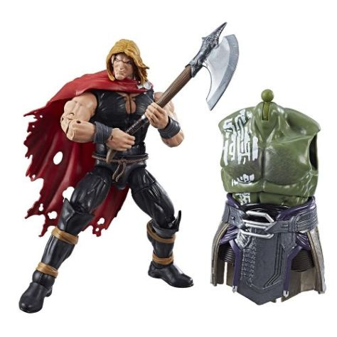 hasbro, marvel legends series, action figures, thor ragnarok, build-a-figure