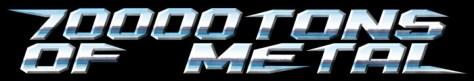 70000 tons of metal cruise logo