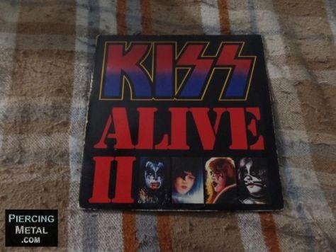 kiss, kiss albums, alive ii