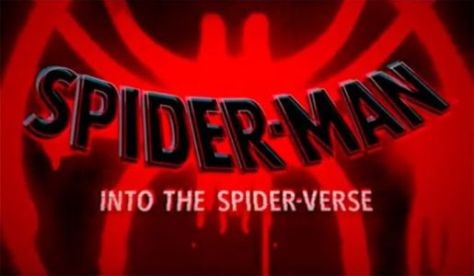 spider-man: into the spider-verse logo