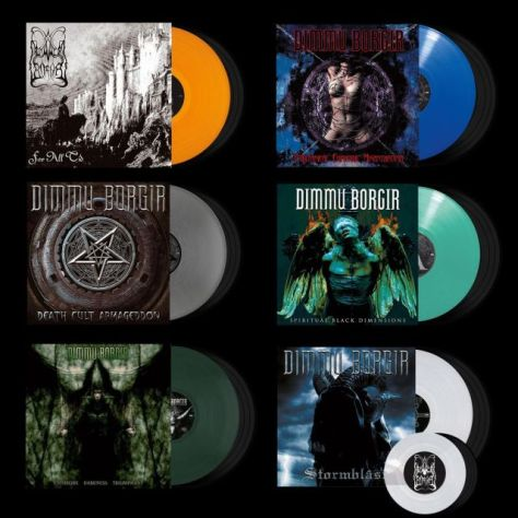 dimmu borgir, dimmu borgir album covers, album covers, nuclear blast records