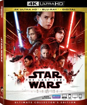 video cover art, star wars the last jedi, lucasfilm