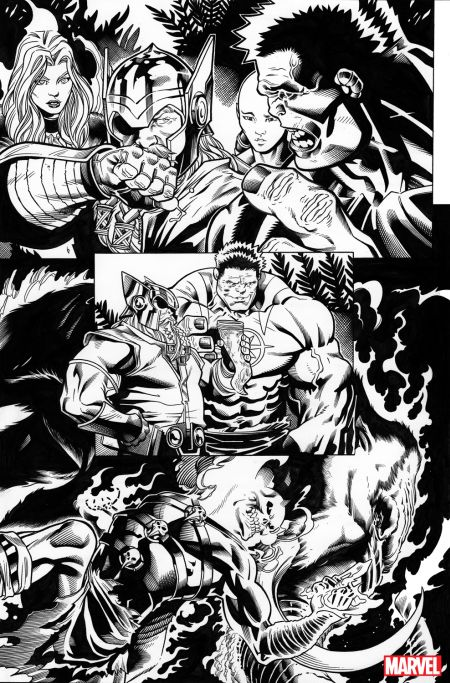 marvel comics, avengers, comic preview pages
